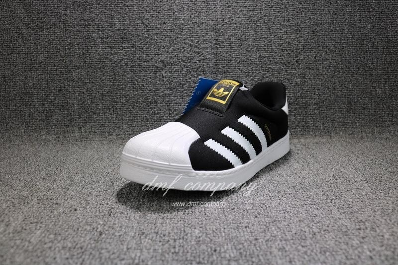 ADIDAS SUPERSTAR 360 Kids Shoes Black 2