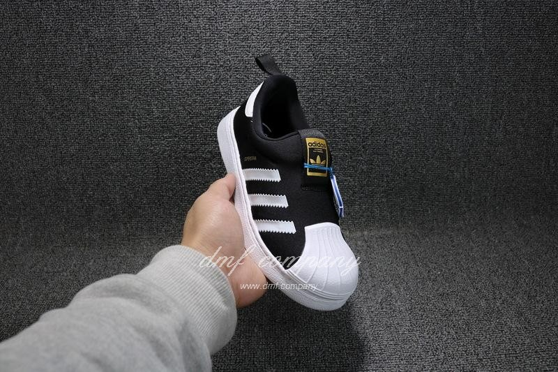 ADIDAS SUPERSTAR 360 Kids Shoes Black 4