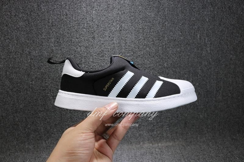 ADIDAS SUPERSTAR 360 Kids Shoes Black 5