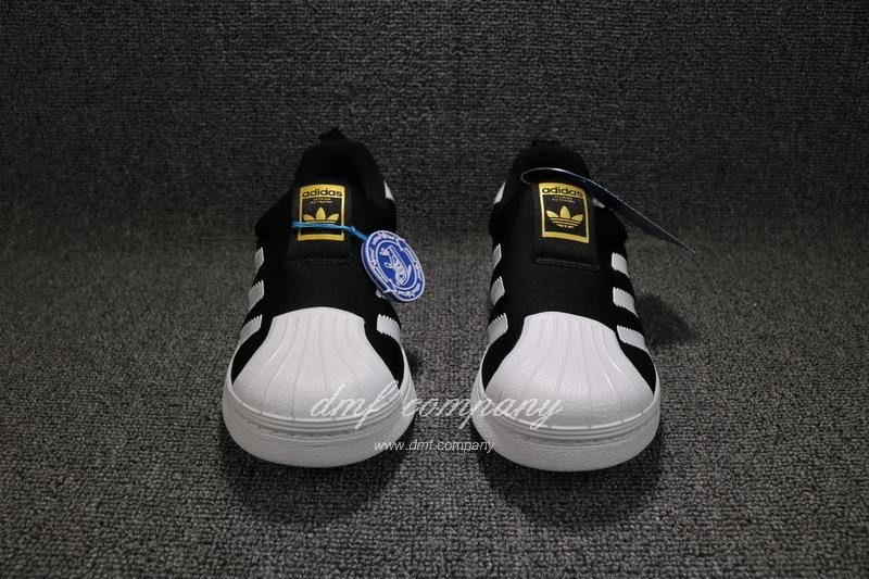 ADIDAS SUPERSTAR 360 Kids Shoes Black 6