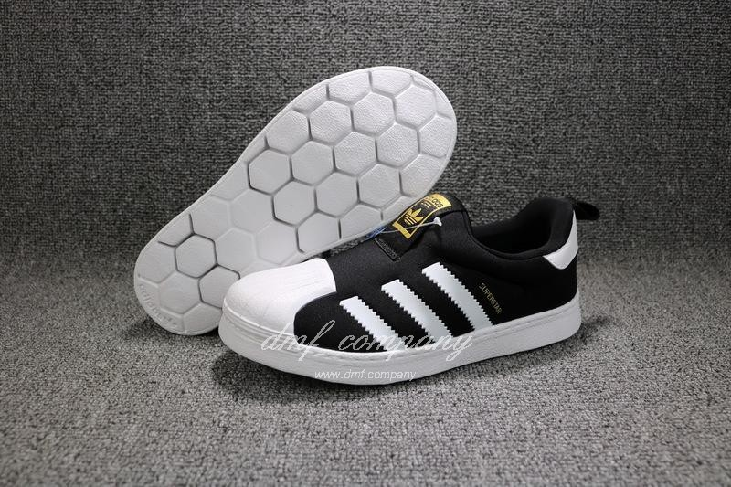 ADIDAS SUPERSTAR 360 Kids Shoes Black 1