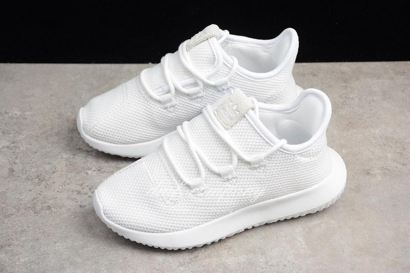 Adidas Simple Yeezy Kids Shoes White 4