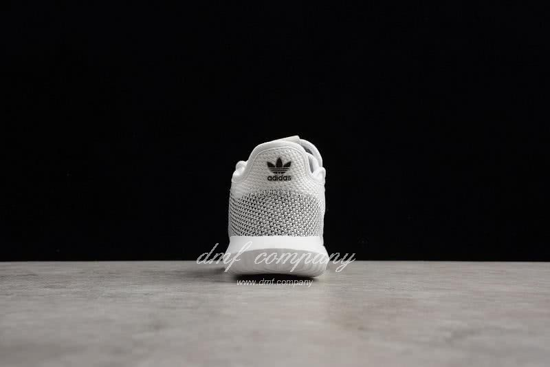 Adidas Simple Yeezy Kids Shoes White 7