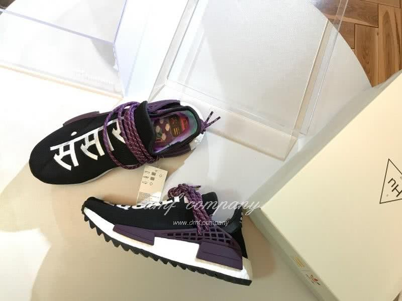Pharrell Williams x Adidas NMD Black Purple White Men Women 8