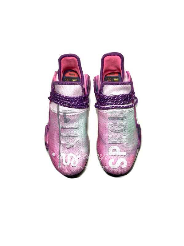 Pharrell Williams x Adidas NMD Pink Purple White Men Women 3