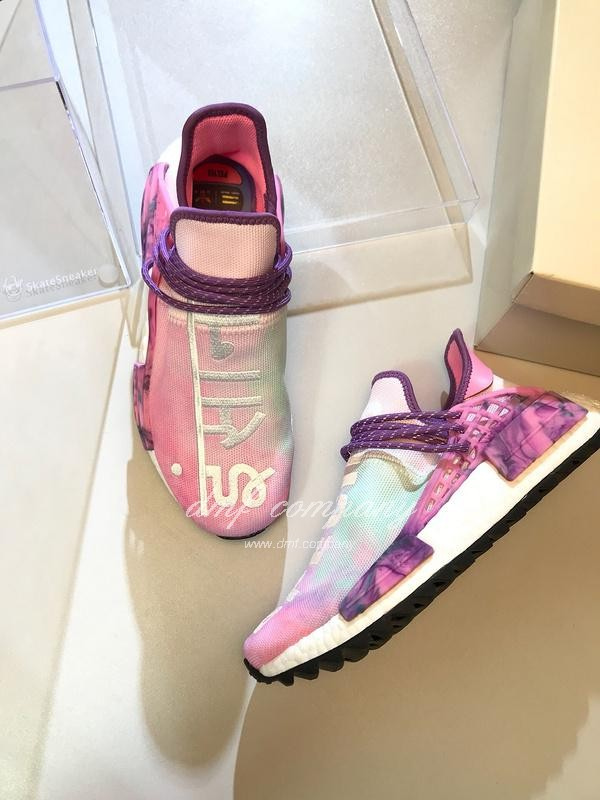 Pharrell Williams x Adidas NMD Pink Purple White Men Women 7