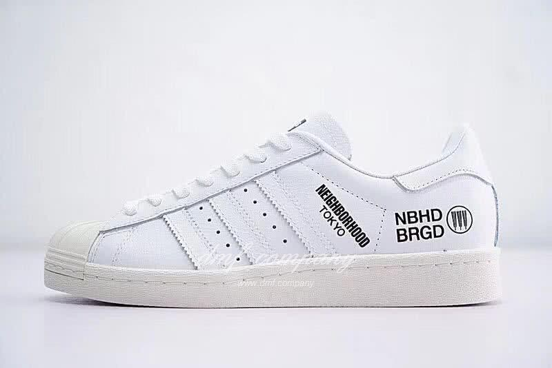 NEIGHBORHOOD x Adidas Originals Superstar 80s White Men/Women 1