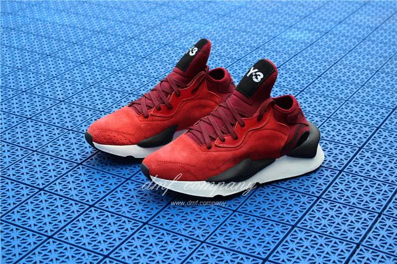 Adidas Y-3 YohjiYamamoto Kaiwa Chunky Sneakers Men/Women Red/Black 3