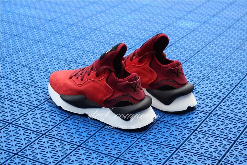 Adidas Y-3 YohjiYamamoto Kaiwa Chunky Sneakers Men/Women Red/Black 4