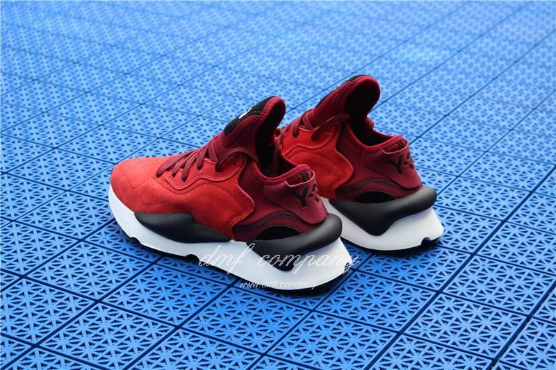 Adidas Y-3 ​Kaiwa Chunky Sneakers Women Men Red Black Shoes 3