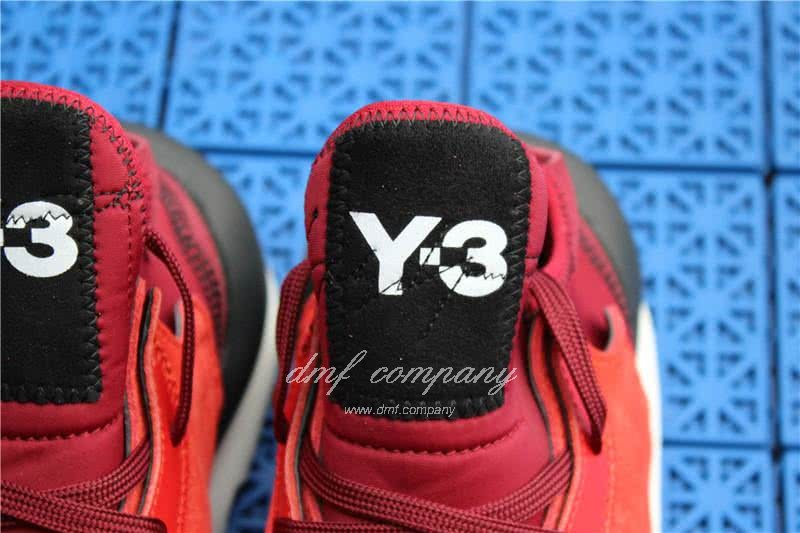 Adidas Y-3 YohjiYamamoto Kaiwa Chunky Sneakers Men/Women Red/Black 8