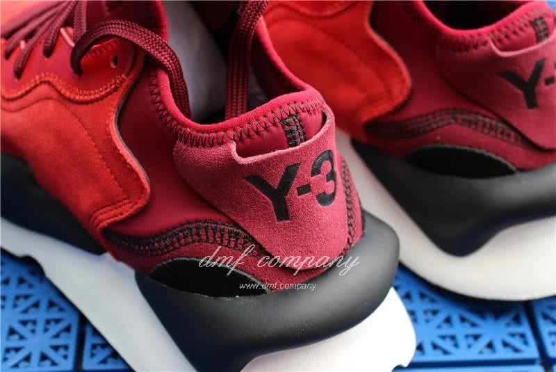 Adidas Y-3 YohjiYamamoto Kaiwa Chunky Sneakers Men/Women Red/Black 10