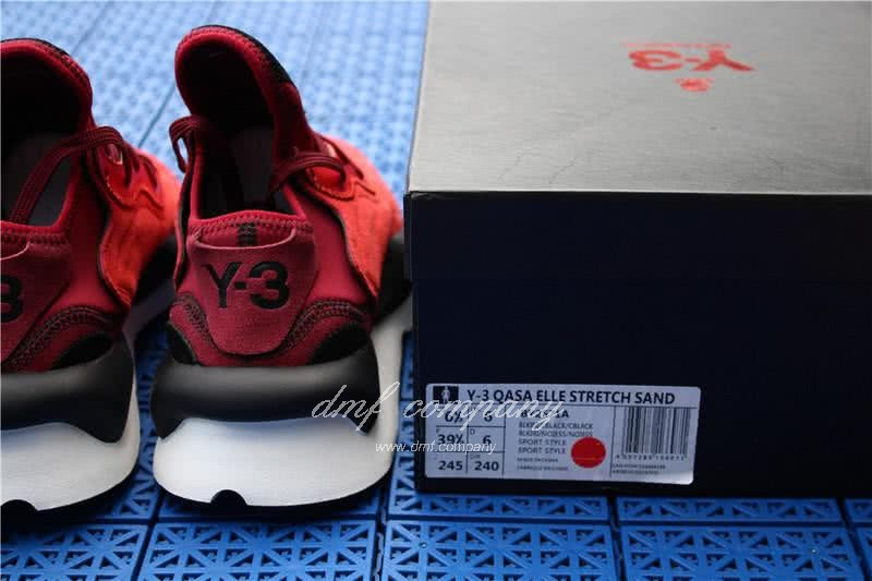 Adidas Y-3 YohjiYamamoto Kaiwa Chunky Sneakers Men/Women Red/Black 11