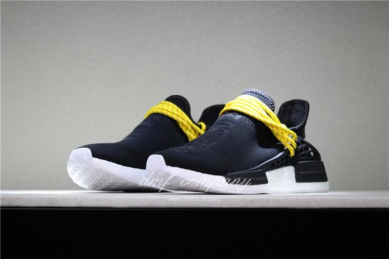 Adidas PW Human Race NMD Black Yellow And White Men And Women 1