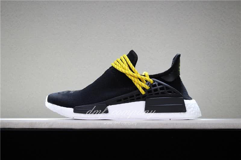 Adidas PW Human Race NMD Black Yellow And White Men And Women 2