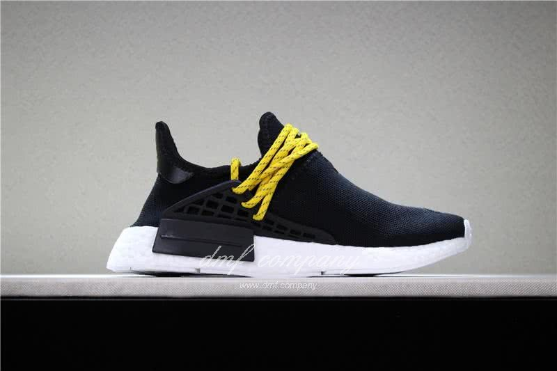 Adidas PW Human Race NMD Black Yellow And White Men And Women 3