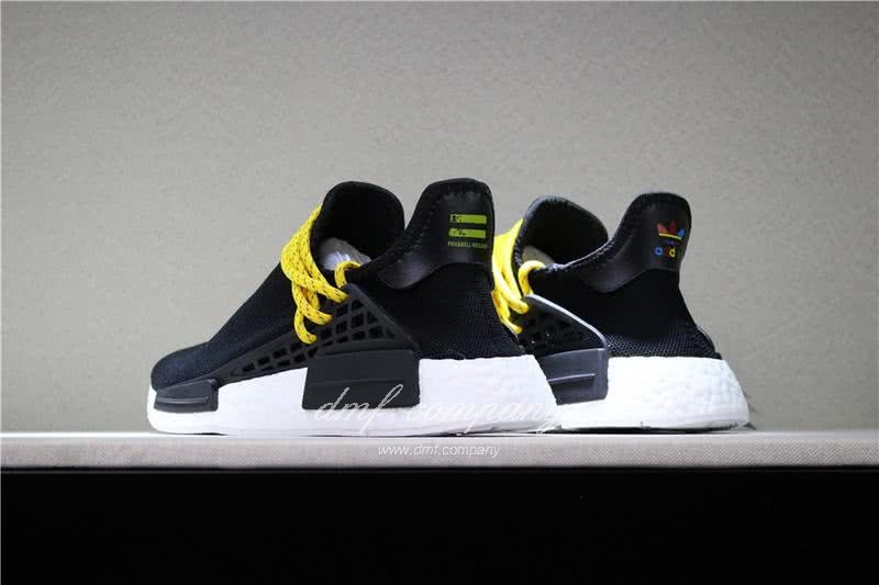 Adidas PW Human Race NMD Black Yellow And White Men And Women 5