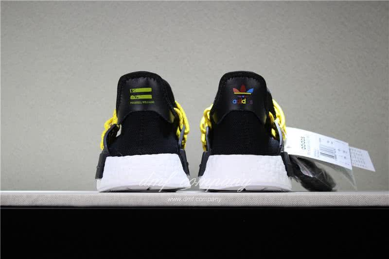 Adidas PW Human Race NMD Black Yellow And White Men And Women 6