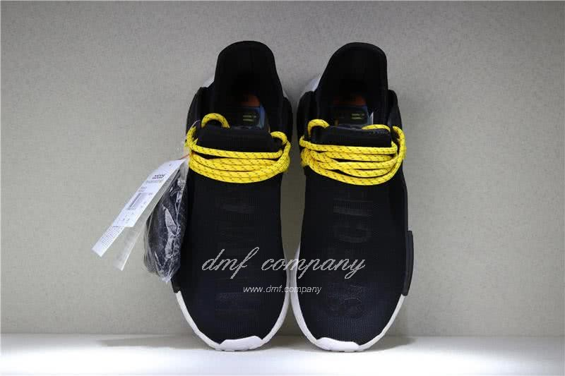 Adidas PW Human Race NMD Black Yellow And White Men And Women 7