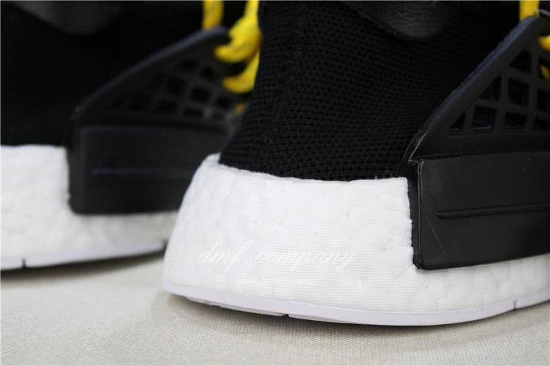 Adidas PW Human Race NMD Black Yellow And White Men And Women 8