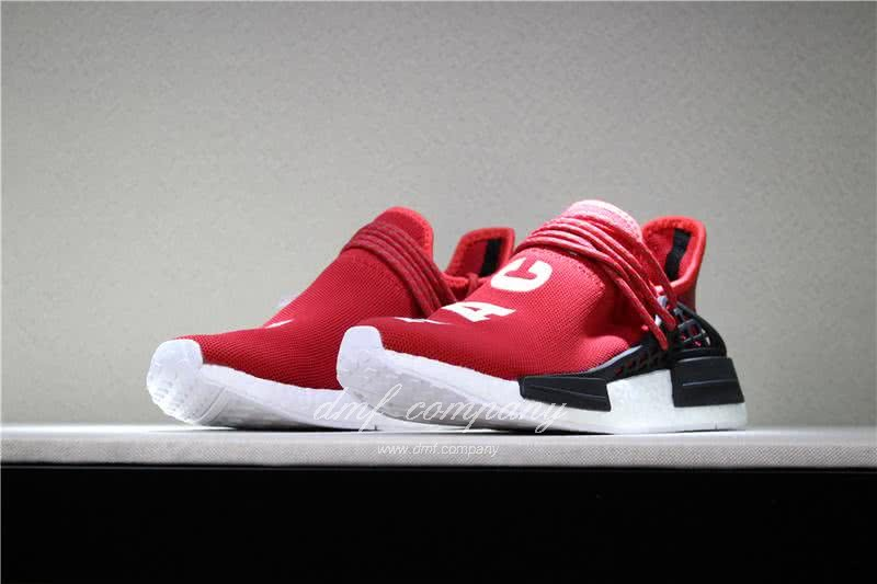 Adidas PW Human Race NMD Red Black And White Men And Women 1