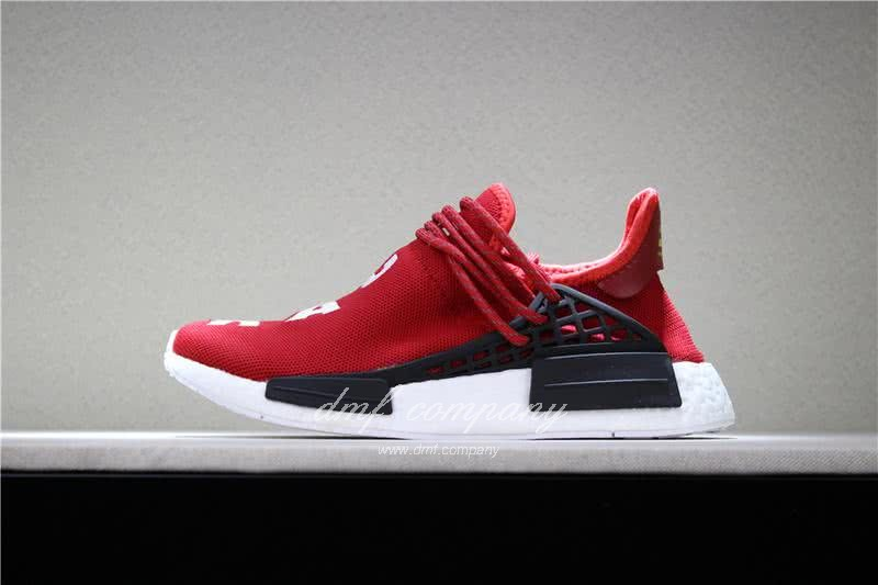 Adidas PW Human Race NMD Red Black And White Men And Women 2