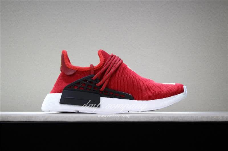 Adidas PW Human Race NMD Red Black And White Men And Women 3