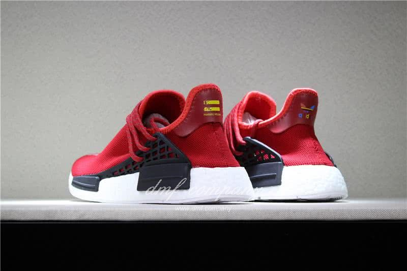 Adidas PW Human Race NMD Red Black And White Men And Women 5