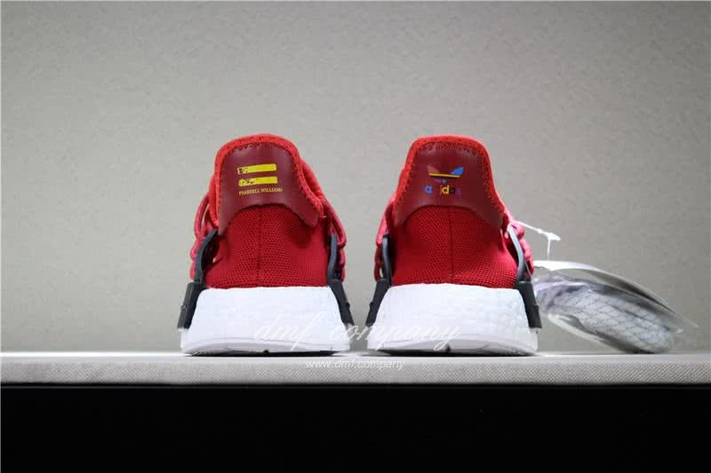 Adidas PW Human Race NMD Red Black And White Men And Women 6