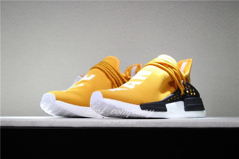 Adidas PW Human Race NMD Orange Black And White Men And Women 1