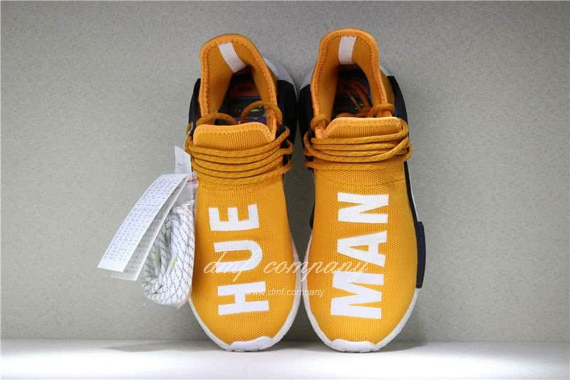 Adidas PW Human Race NMD Orange Black And White Men And Women 7