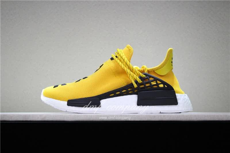Adidas PW Human Race NMD Yellow Black And White Men And Women 2