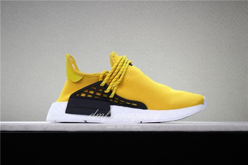Adidas PW Human Race NMD Yellow Black And White Men And Women 3