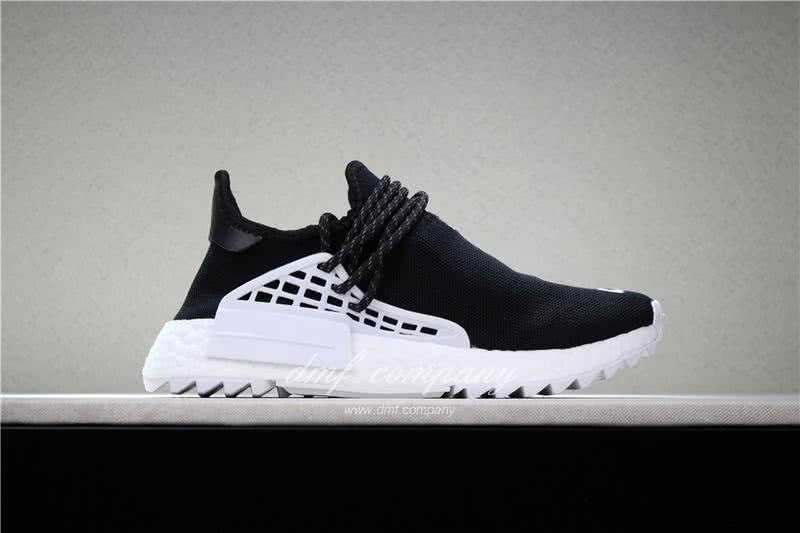 Adidas PW Human Race NMD Black And White Men And Women 3
