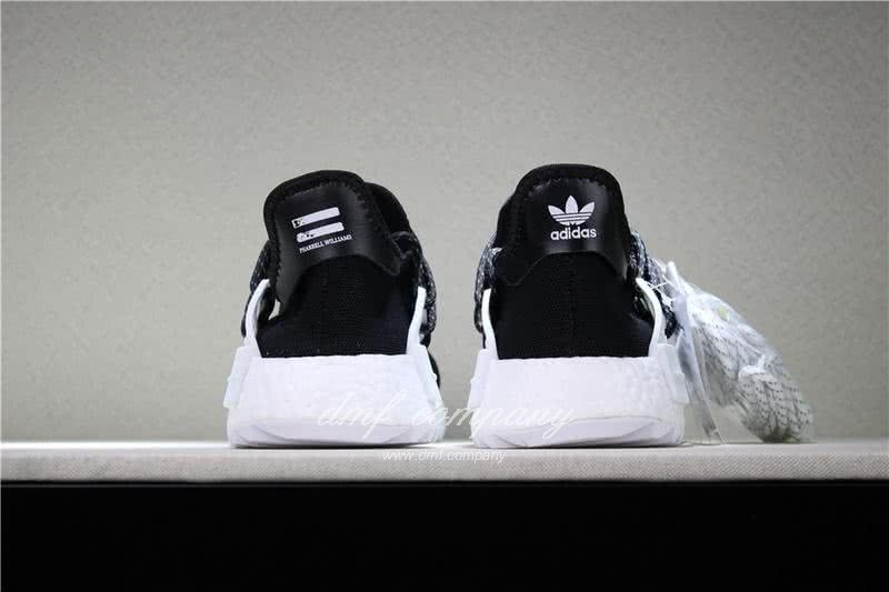 Adidas PW Human Race NMD Black And White Men And Women 6