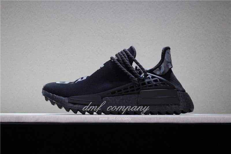 Adidas PW Human Race NMD Black And White Men And Women 2