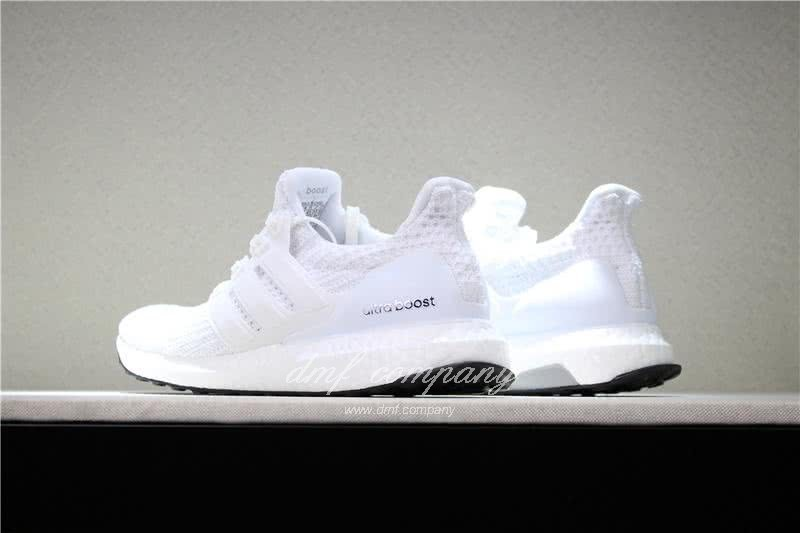 Adidas Ultra Boost 4.0  Men/Women WHITE 4