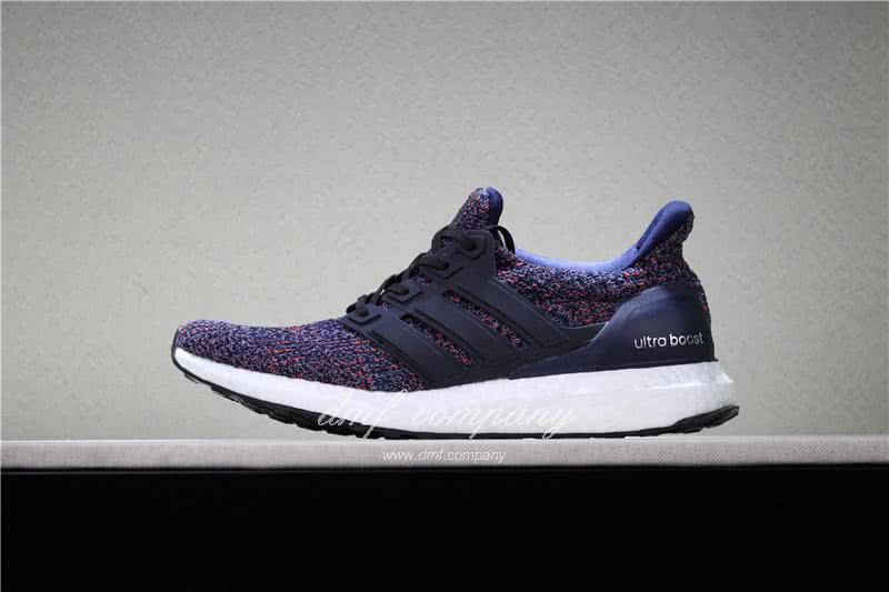 Adidas Ultra Boost 4.0 Men Women Red Blue Shoes 2