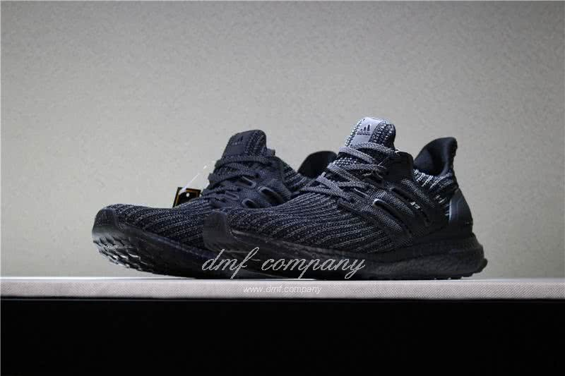 Adidas Ultra Boost 4.0  Men/Women All Black 2