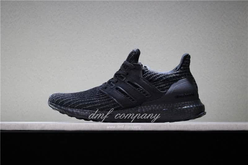 Adidas Ultra Boost 4.0  Men/Women All Black 1