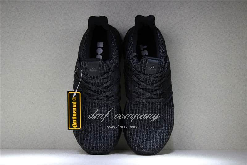 Adidas Ultra Boost 4.0 Men Women Black Shoes 6