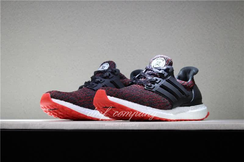 UNDFTD X Adidas Ultra Boost 4.0 Men Women Black Red Shoes 1