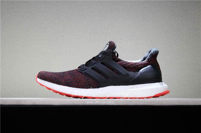 UNDFTD X Adidas Ultra Boost 4.0 Men Women Black Red Shoes 2