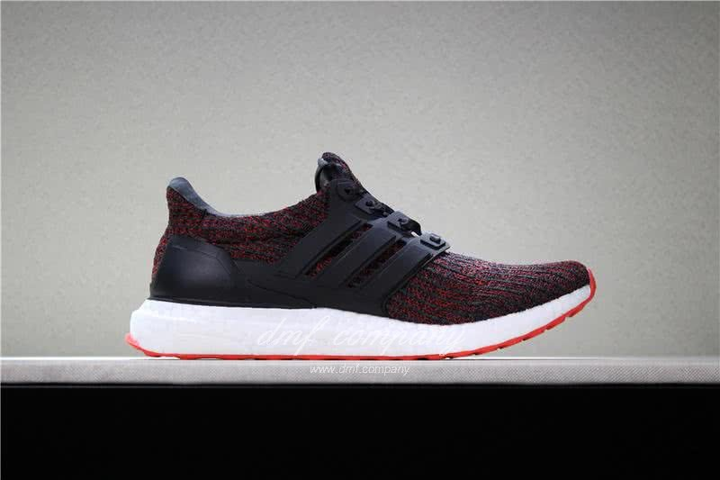 UNDFTD X Adidas Ultra Boost 4.0 Men Women Black Red Shoes 3