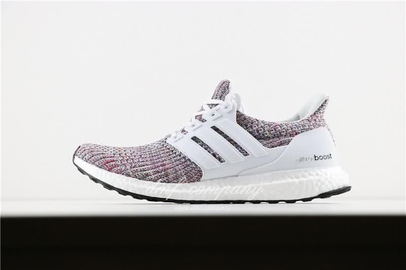 Adidas Ultra Boost 4.0 Men/Women White/Colorful 2