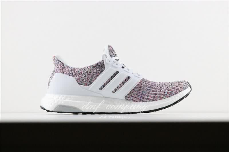 Adidas Ultra Boost 4.0 Men/Women White/Colorful 1