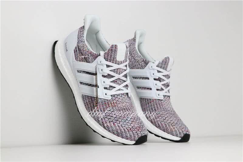 Adidas Ultra Boost 4.0 Men/Women White/Colorful 3