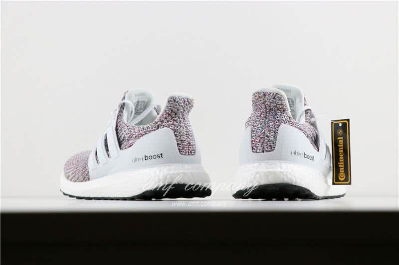 Adidas Ultra Boost 4.0 Men/Women White/Colorful 4
