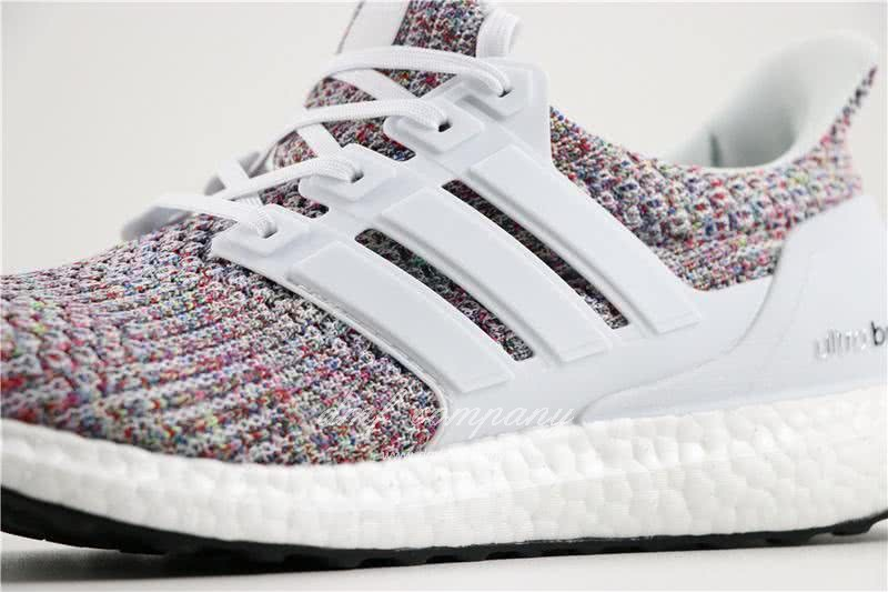 Adidas Ultra Boost 4.0 Men/Women White/Colorful 5