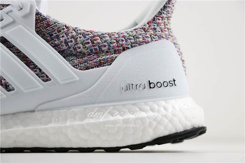 Adidas Ultra Boost 4.0 Men/Women White/Colorful 6